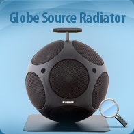 Globe Source Radiator